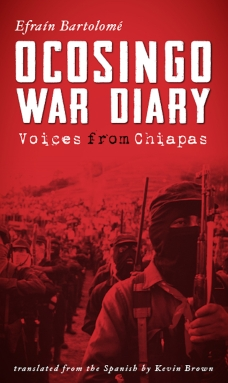 Ocosingo War Diary Cover