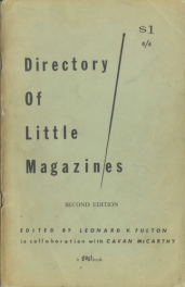 Directory Small Press 2ed