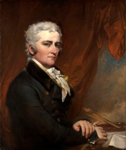 John Trumbull painter Self-Portrait 1802