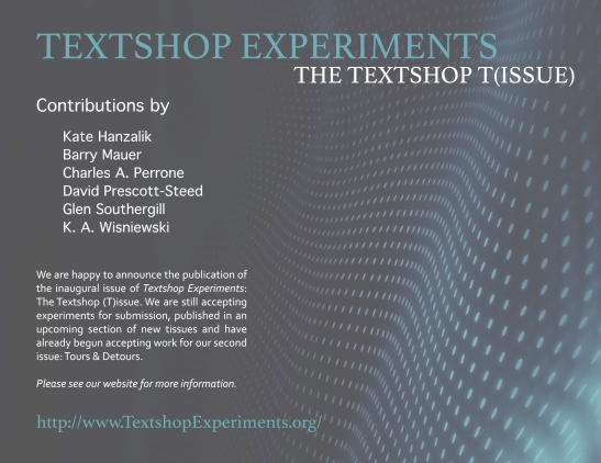 textshop-experiments-issue-1-release-poster