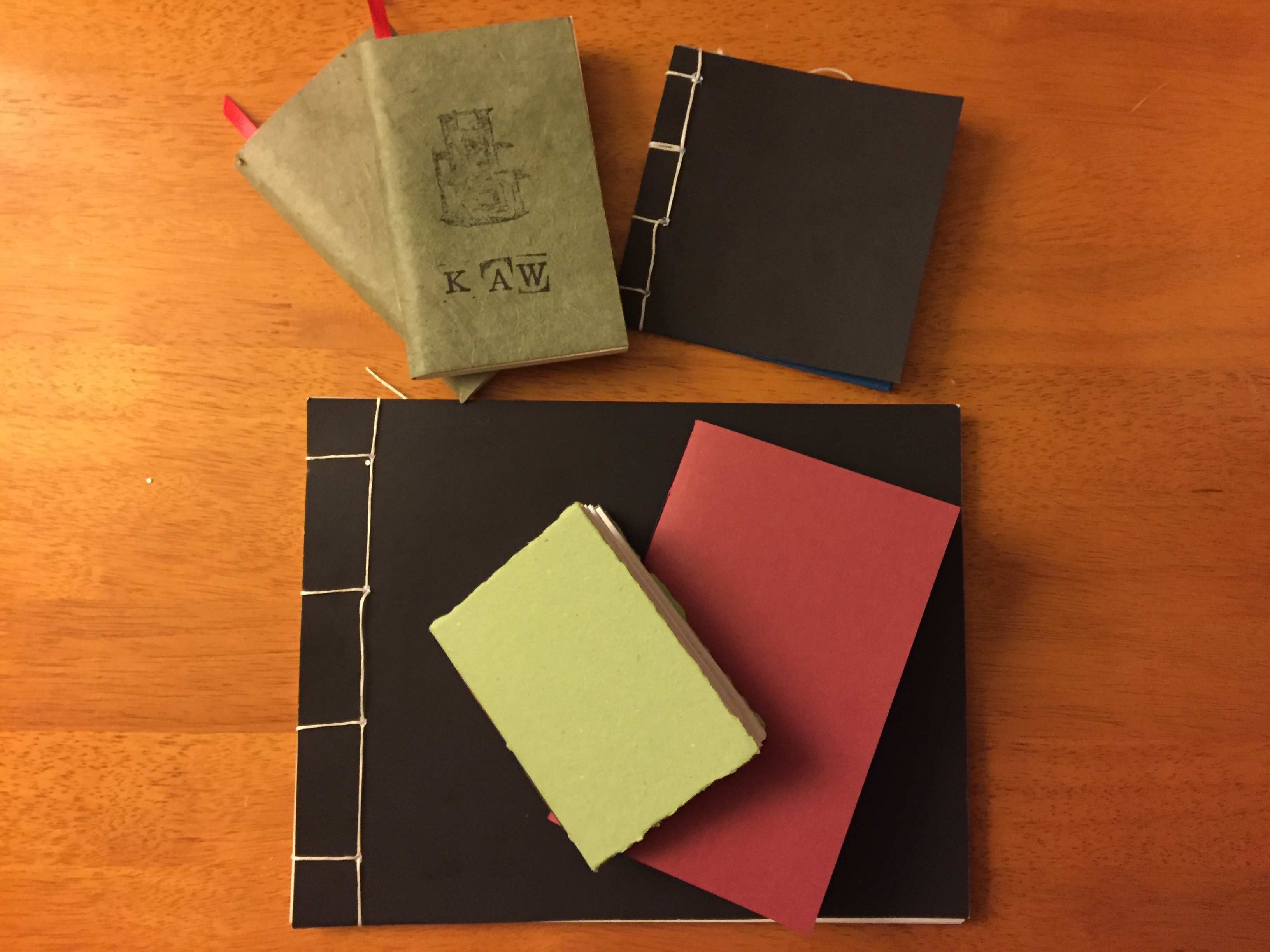 bookbinding bookmaking workshop results the projector