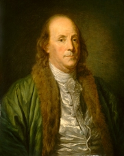 after Jean-Baptiste Greuze, Benjamin Franklin, , 19th century, oil on canvas, Gift of Adele Lewisohn Lehman