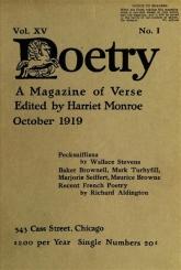 Poetry Oct 1919