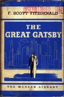Great Gatsby Book Cover 03 (1934)