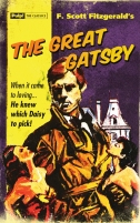 Great Gatsby Book Cover 08